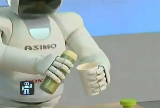 Робот Asimo теперь умеет бегать