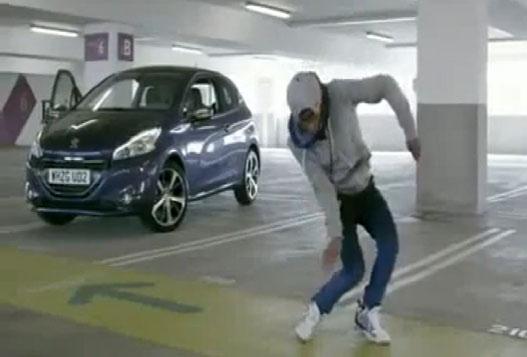 Классный Танец На Автопарковке
