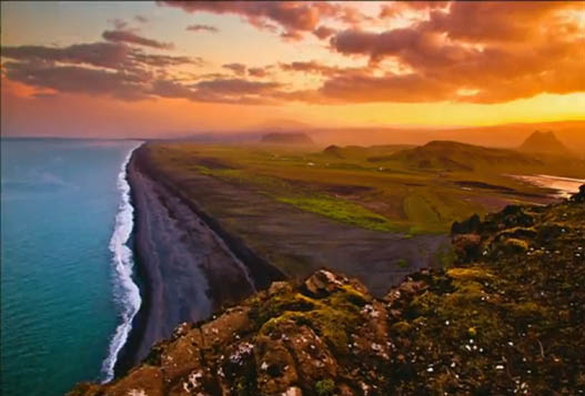 Полуночное Cолнце Исландии