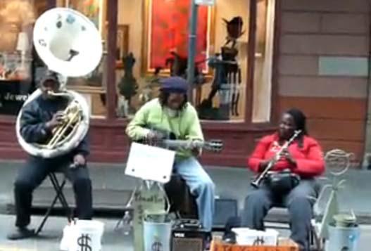 Джаз-Банда В Новом Орлеане