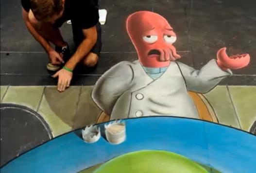 Как Делается 3D Рисунок