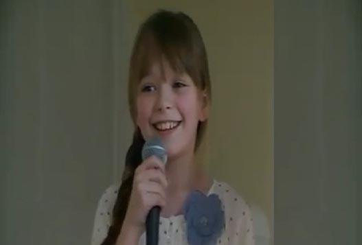 11-летняя Талантливая Певица Конни Тэлбот