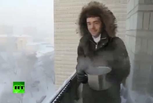 Лютая Русская Зима
