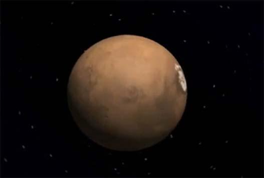 Весна 2020 На Марсе