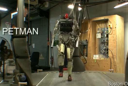 Человекоподобный Робот PETMAN