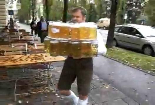 Рекорд По Переносу Пива Не Удался