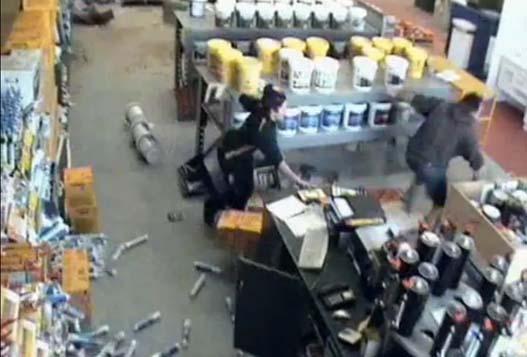 Земетрясение в Магазине Хозтоваров
