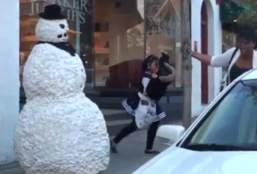 Страшный Снеговик