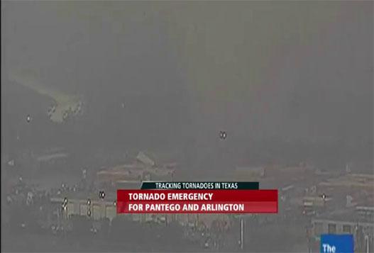 Разрушительный Торнадо В Далласе