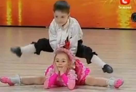 Акробатический Номер Детей На Шоу Украинских Талантов