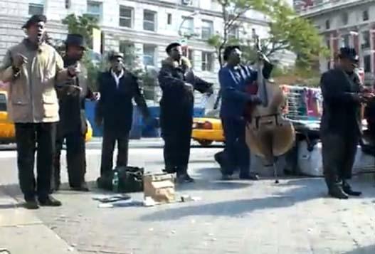 Уличный Блюз В Нью-Йорке